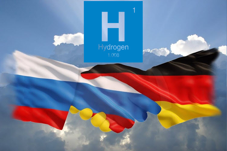 Fuel cells works, hydrogen, Russia, germany, fuel cells