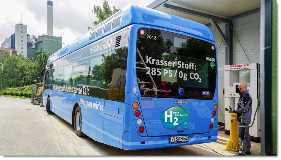 HYDROGEN FUEL CELL BUS WSW