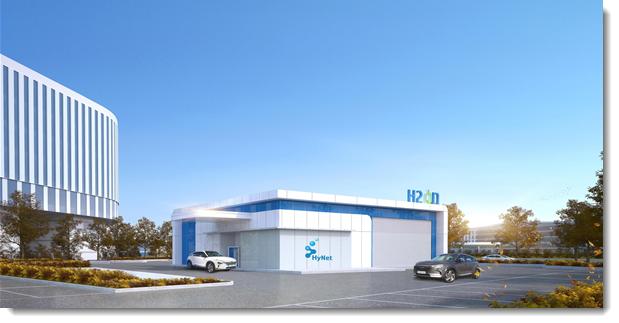 HyNet Hydrogen Station Opening in August 2