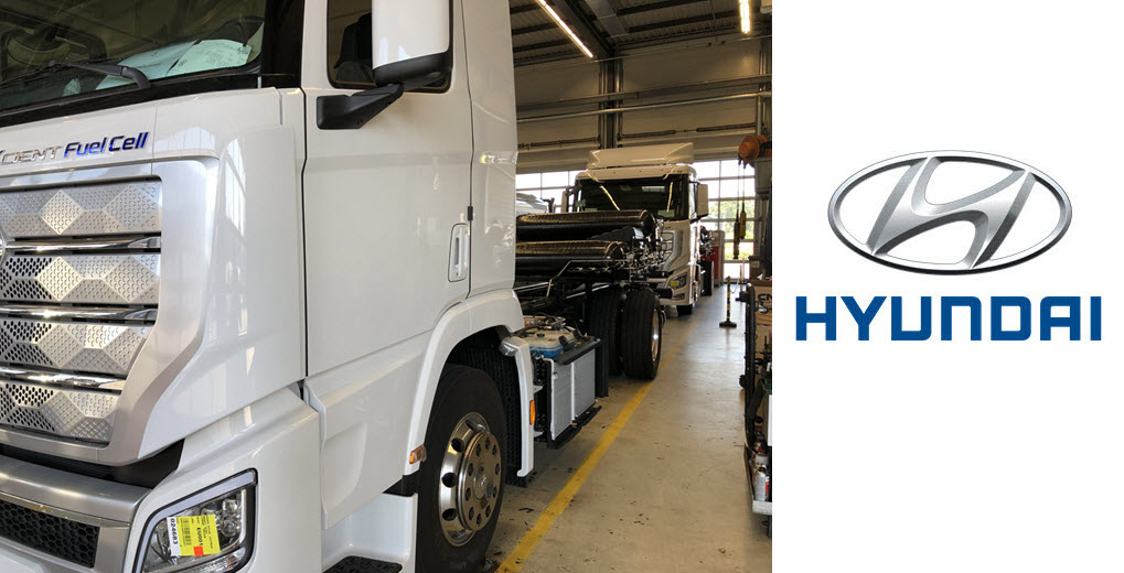 Hyundai Delivers the First Series Hydrogen Trucks to Rothenburg 1