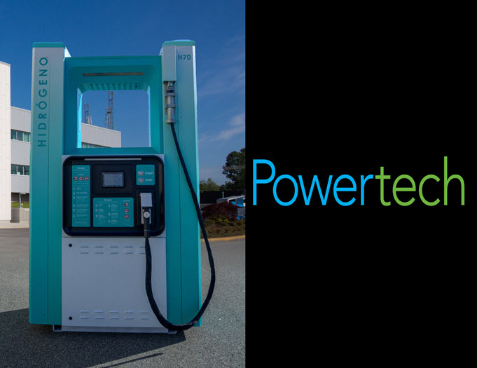 Powertech Hydrogen Dispenser