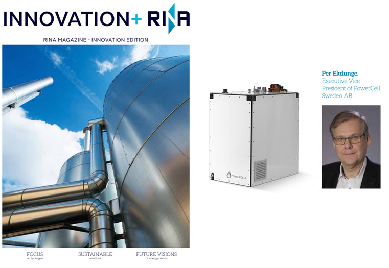 RINA Magazine Feature on PowerCell