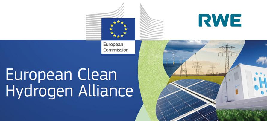 RWE Joins Clean Hydrogen Alliance