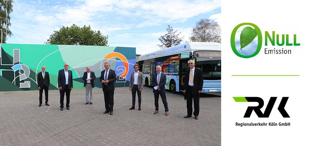 Regionalverkehr K%C3%B6ln GmbH RVK Inaugurates Europes Largest Fuel cell Hybrid Bus Fleet Main