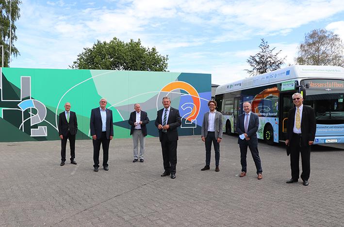 Regionalverkehr K%C3%B6ln GmbH RVK Inaugurates Europes Largest Fuel cell Hybrid Bus Fleet