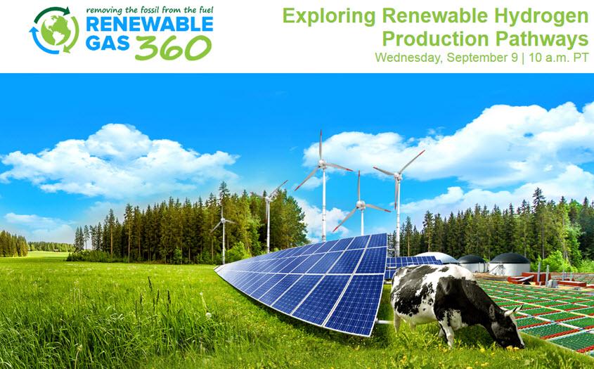 Renewable Hydrogen Production Webinar