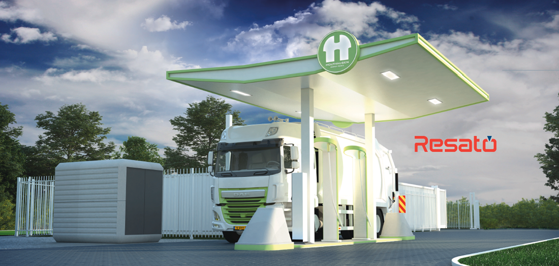 Resato Holthausen Hydrogen Station for Netherlands
