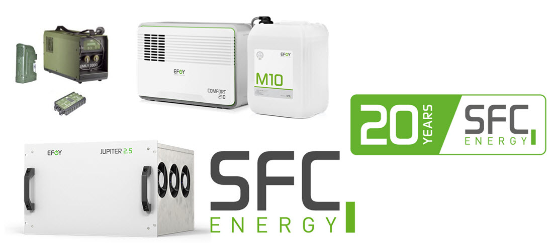SFC Energy 20 Years