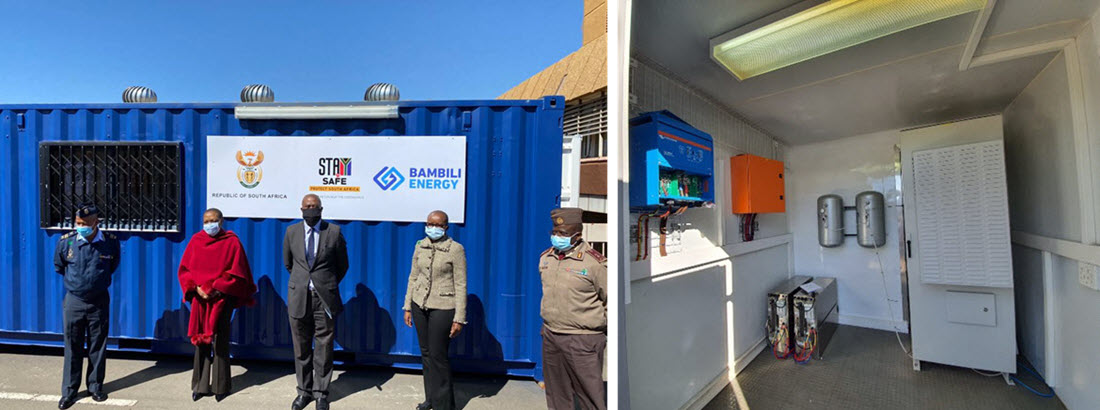 Sasol Fuel Cell Hospital South Africa 2