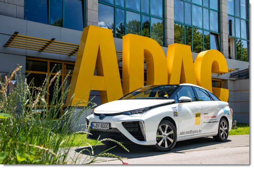 Toyota Mirai ADAC