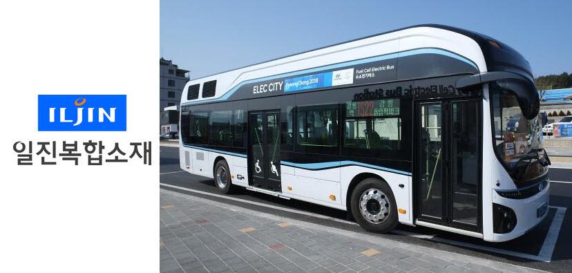 iljin composites Hydundai Fuel Cell Bus
