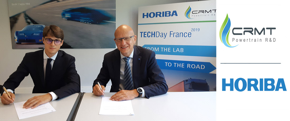 20200915 HORIBA France Signs Strategic Agreement with CRMT