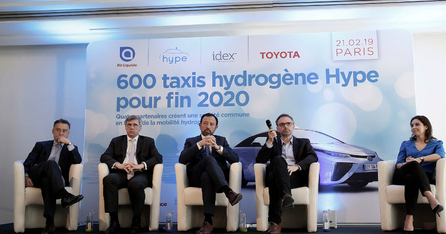 600 Hype Hydrogen Taxis Announcement