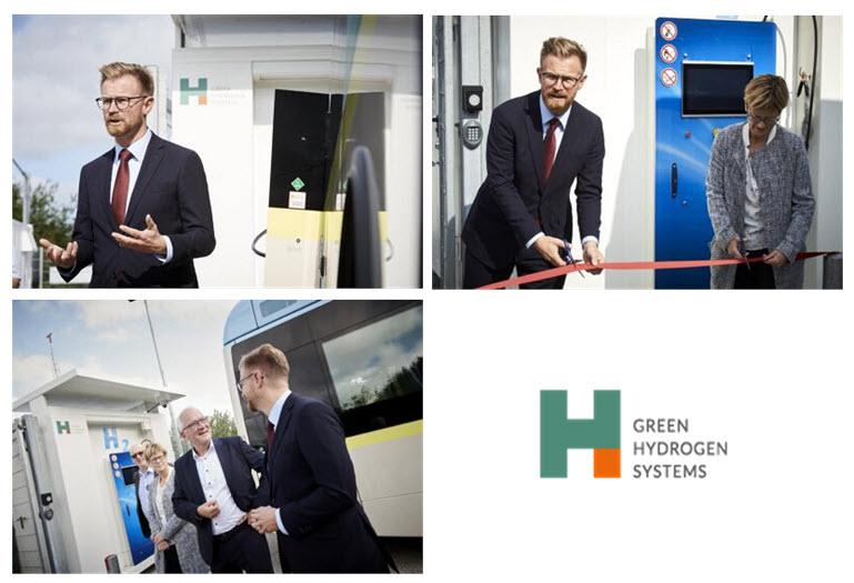 Aalborg Hydrogen Station Officially Opens