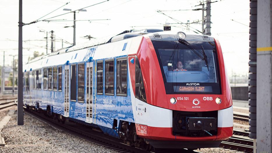 Alstom Hydrogen Train Austria