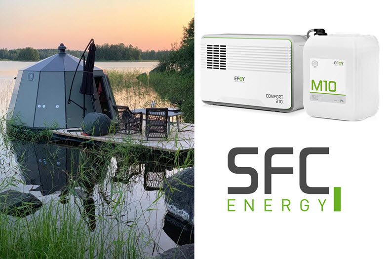 Aurora Hut Powered by SFC Energy Fuel Cells