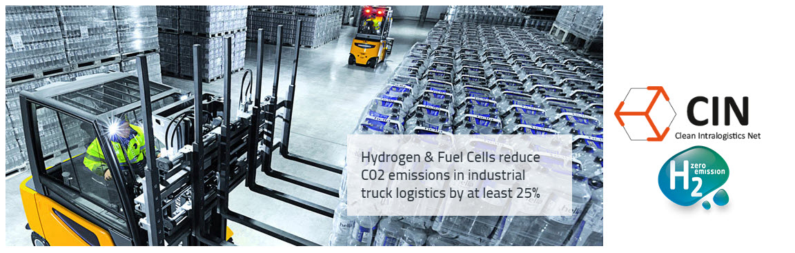 CIN Hydrogen Fuel Cell Forklifts Funding Germany