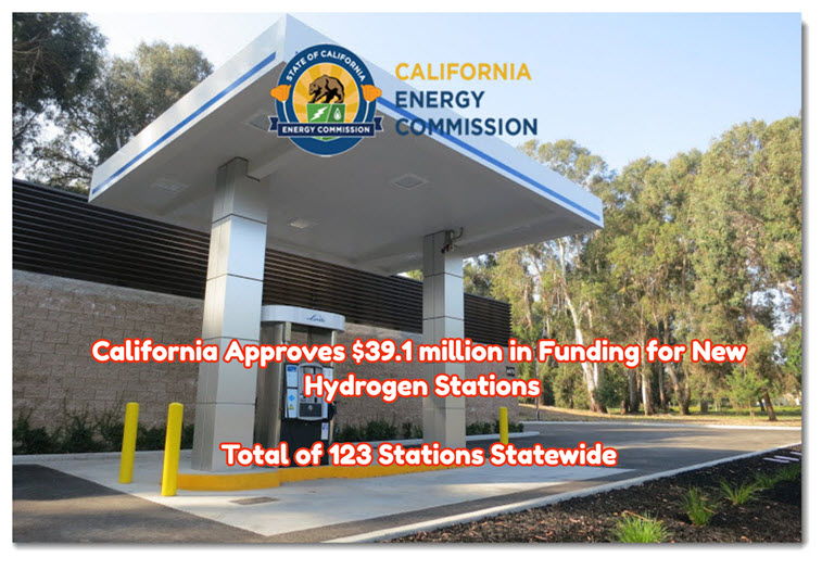 California Hydrogen Stations Funding