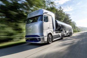 D604612 Mercedes Benz GenH2 Truck