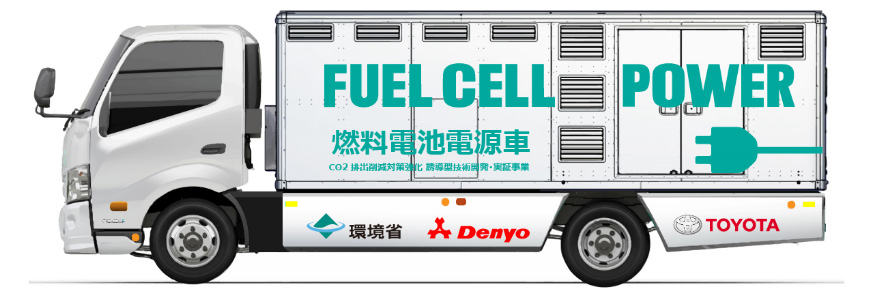 Denyo and Toyota Fuel Cell Power