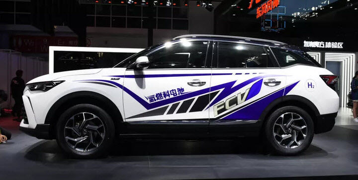 Dongfeng Hydrogen Fuel Cell SUV 2