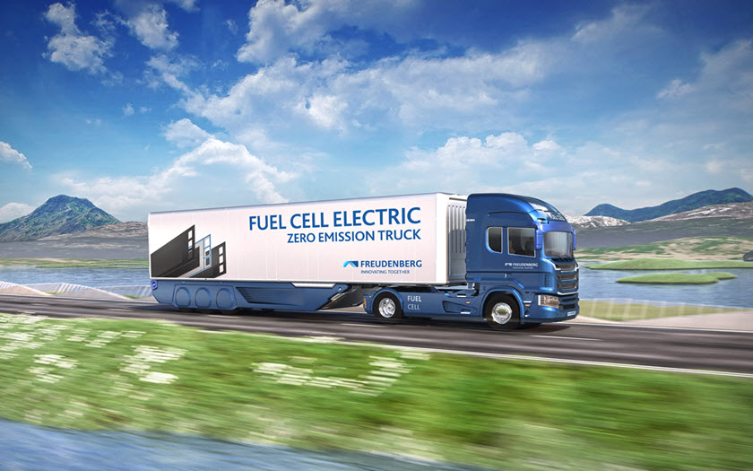 FST Fuel Cell Truck Trail