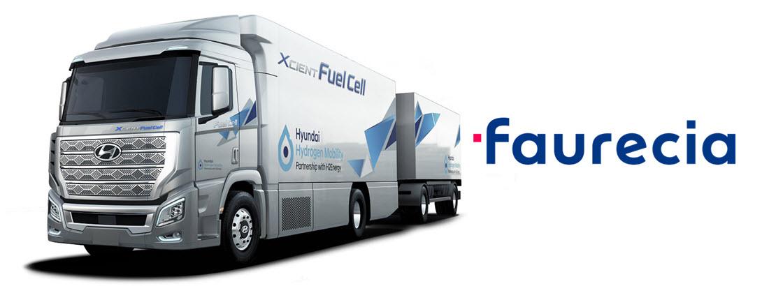 Faurecia Wins Award for Hyundai Trucks TW