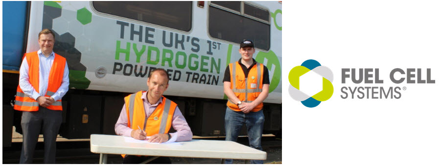 Fuel Cell Systems Hydrogen Trains