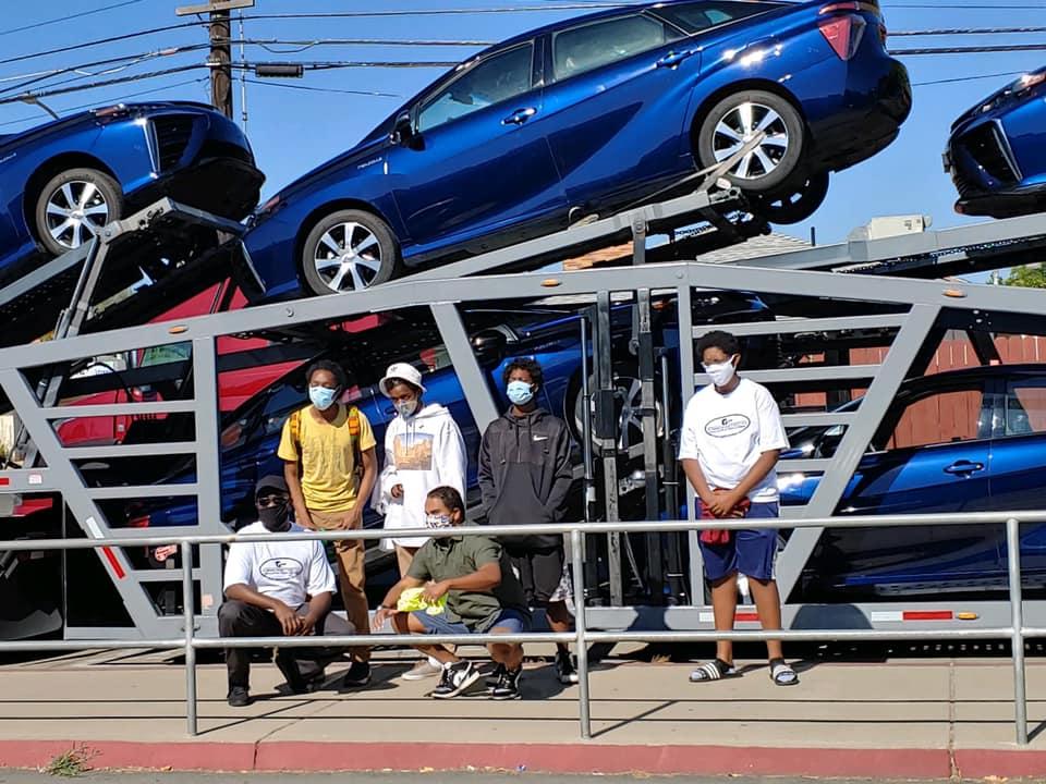 Green Tech Toyota Fuel Cell Mirai Donation 3