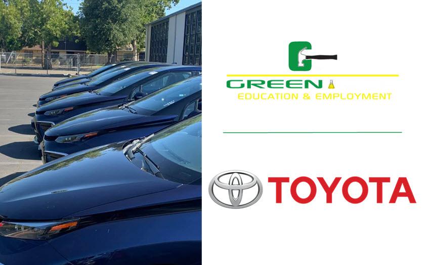 Green Tech Toyota Fuel Cell Mirai Donation Main