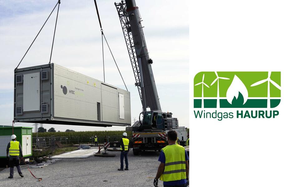HTEC Electolyser Delivered to Windgas