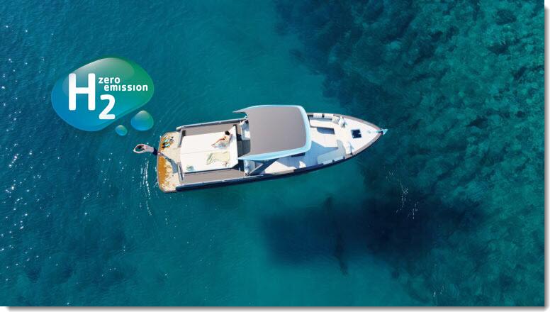HYNOVA Hydrogen Boat