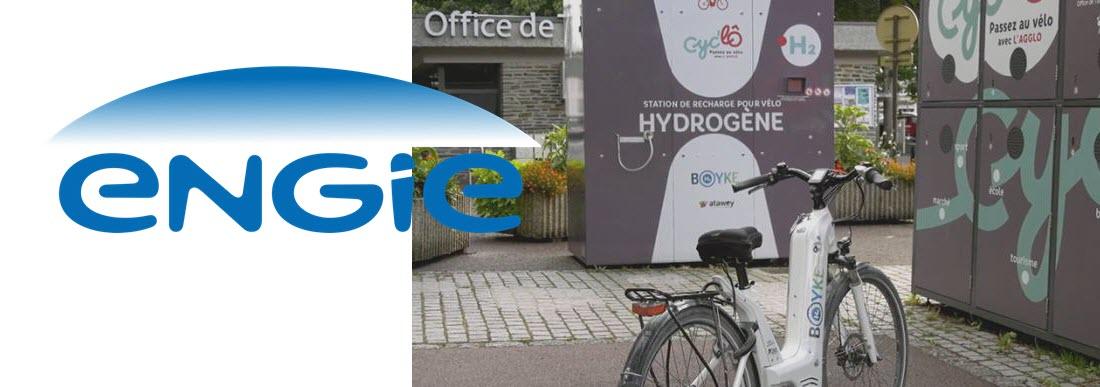 Hydrogen Bike Engie