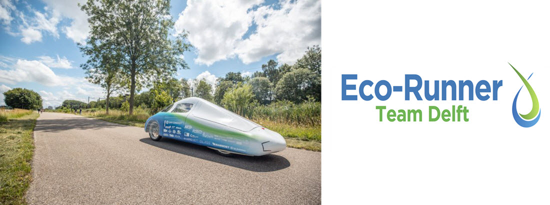 Fuel Cells Works, Eco-Runner Attempts Hydrogen Distance Record With AMS Composite Cylinders
