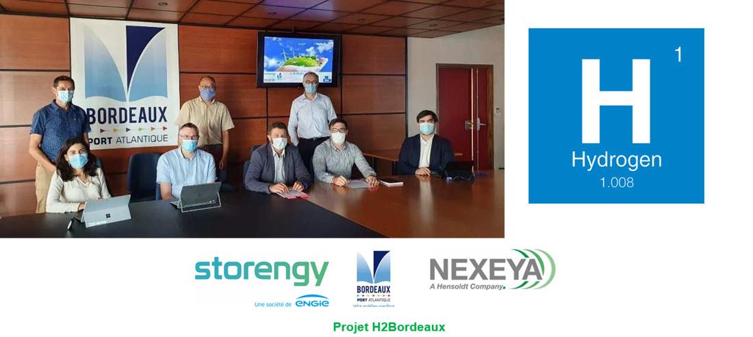 Hydrogen Industry in the Bordeaux Region Main