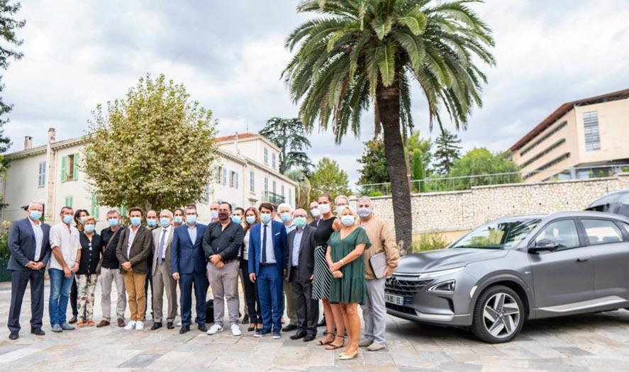 Hyundai Nexo Mayors of Pays de Grasse Community