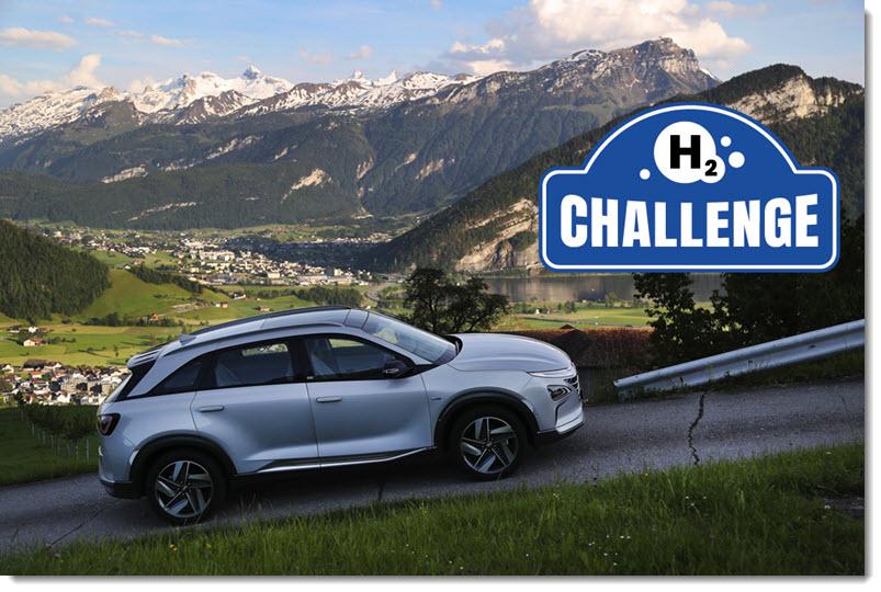 Hyundai Swiss Hyundai NEXO Teams at the 24 Hours Hydrogen Rally 2020
