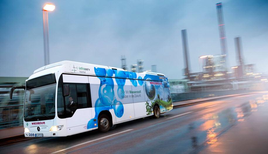 Infraserv Hydrogen Bus New
