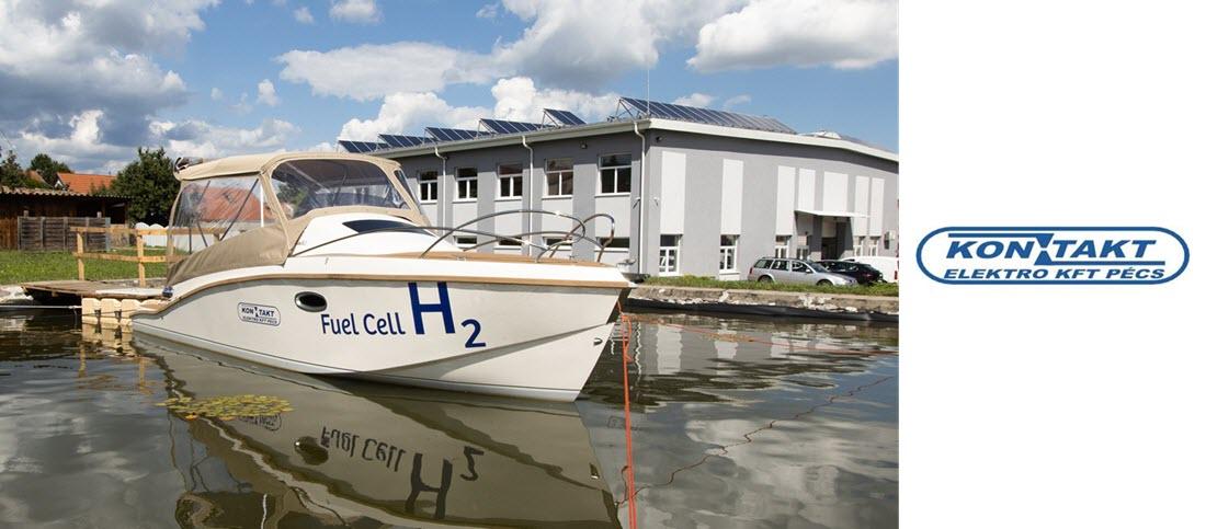 Kontakt Elektro Hydrogen Fuel Cell Boat