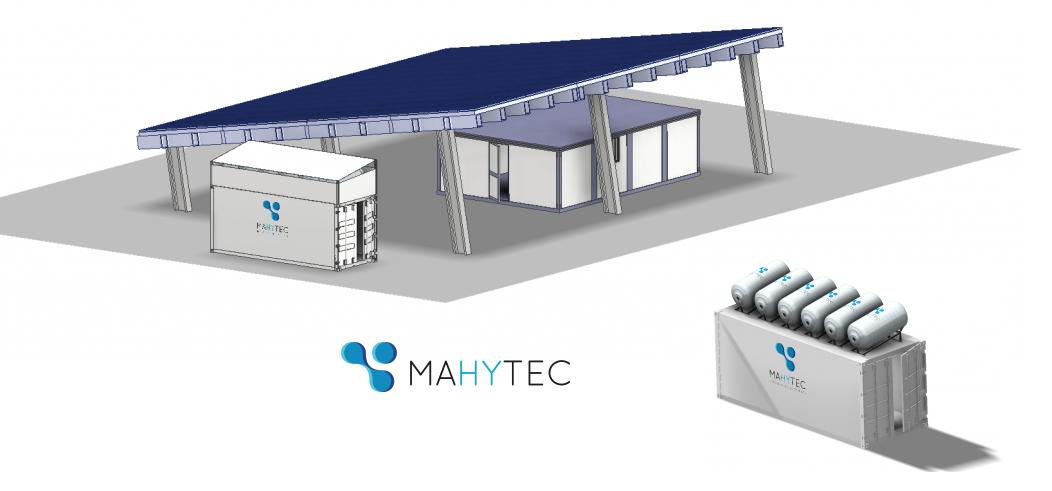 Mahytec Dialysis center using hydrogen 1