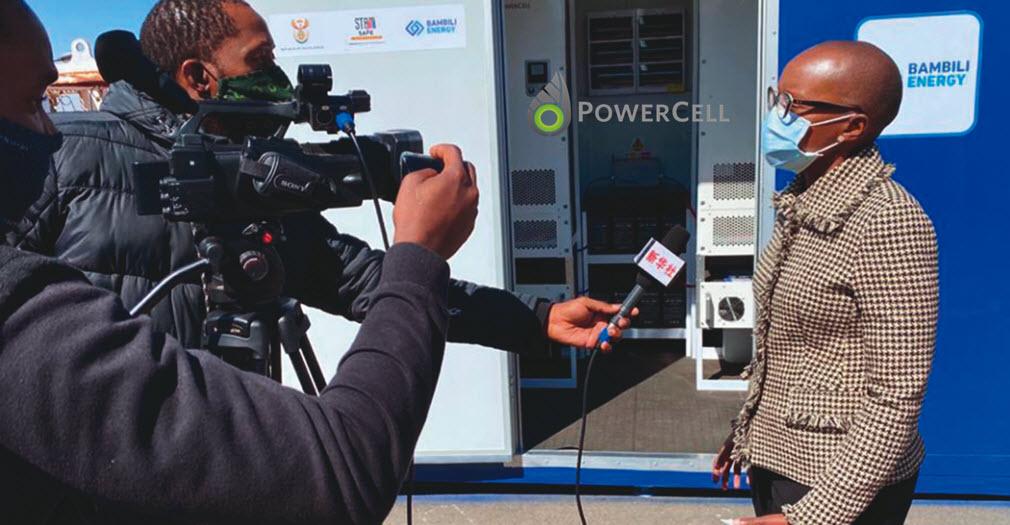 PowerCell Poweing SA Hospital
