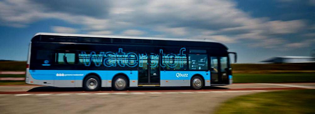 Qbuzz hydrogen bus