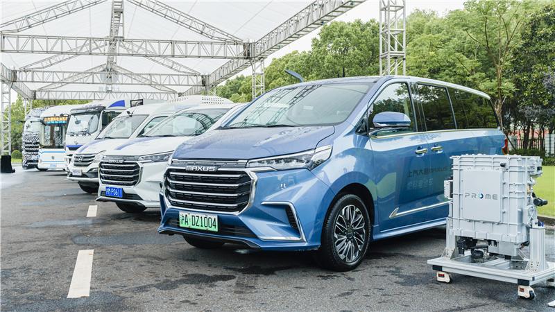 SAIC Hydrogen Fuel Cell Vehicles