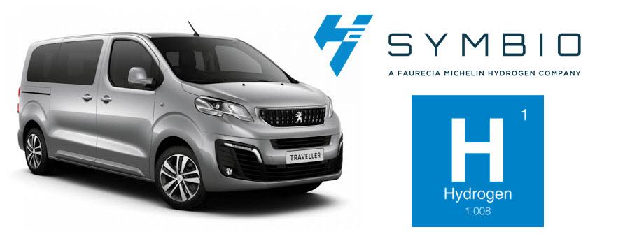 Symbio Hydrogen PSA Hydrogen Fuel Cell Van