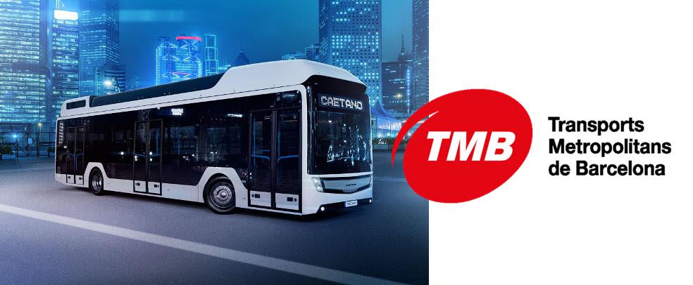 TMB Hydrogen Bus