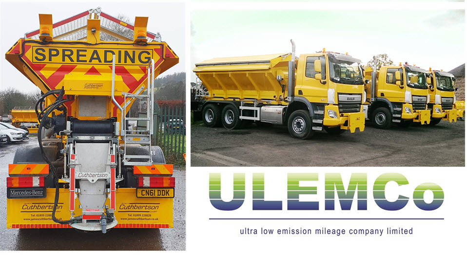 ULEMCo Hydrogen Gritters
