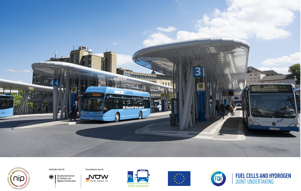 WSW Hydrogen Fuel Cell Buses 100 Days Success
