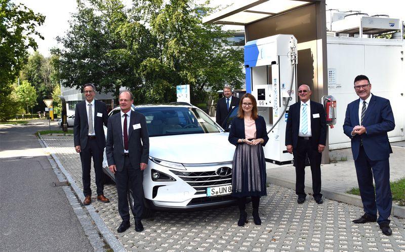 ZSW visit by Besuch SKaufmann