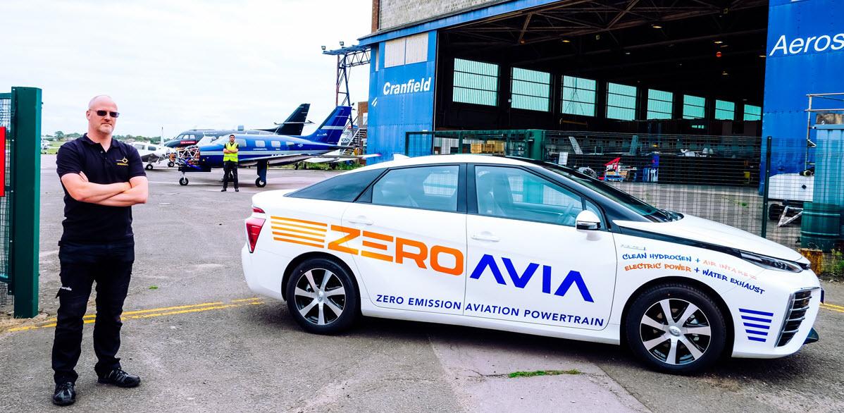 Zeroavia Toyota Mirai 1