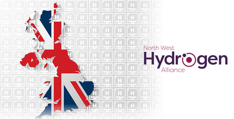 hydrogen uk Hydrogen Now Group with Flag